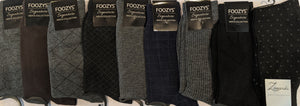 "9 Pair Men's Dress Sock Collection Bundle ""H-2""  -  You get everything that's pictured here"