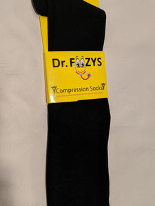 Compression Socks BLACK  DFC-01