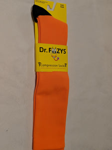 Compression Socks ORANGE  DFC-06