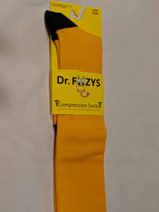 Compression Socks YELLOW  DFC-09
