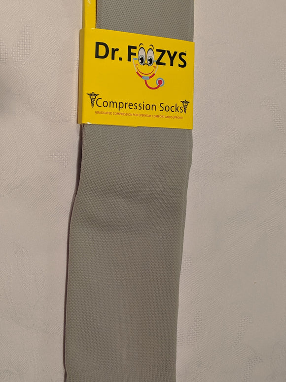 Compression Socks SILVER / GREY  DFC-14