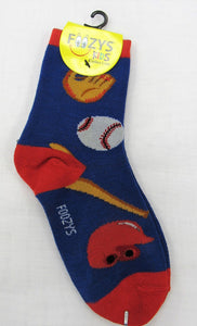 Baseball Kids Socks  FB-02
