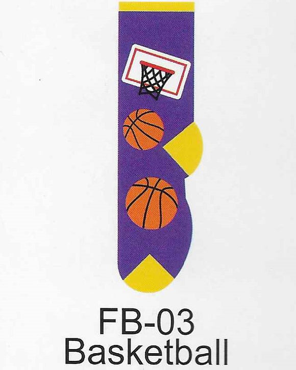 Basketball Kids Socks  FB-03