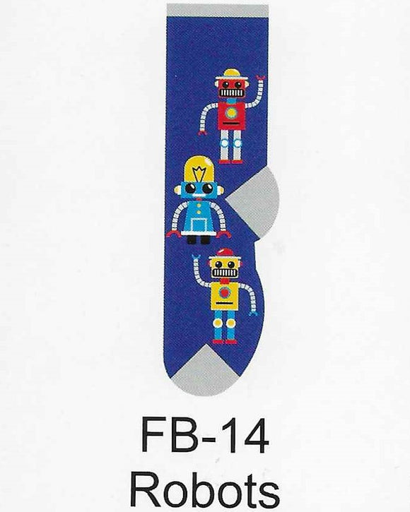 Robot Kids Socks  FB-14