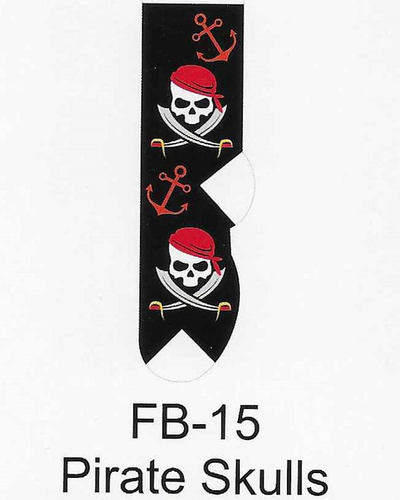 Pirate Skulls Kids Socks  FB-15