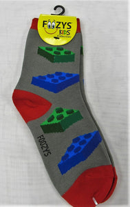 Building Blocks Kids Socks  FB-17