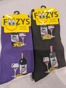 Wine & Cheese Socks  FC-03
