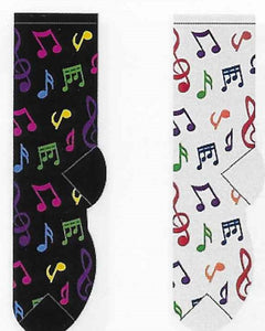 Music Notes Socks  FC-07