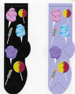 Cotton Candy & Lollipops Socks  FC-100