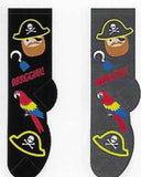 Pirate & Parrot Socks  FC-112