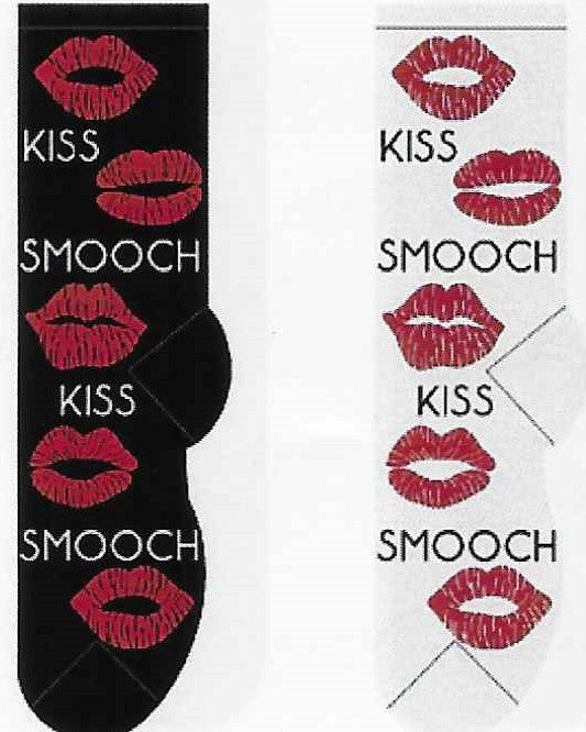 Valentine's Day Kiss & Smooch Socks  FC-121