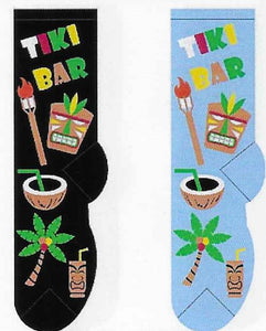 Tiki Bar Socks  FC-128