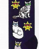 Cats & Sunglasses Socks  FC-133