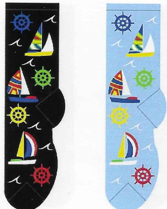 Sailing Away Socks FC-143