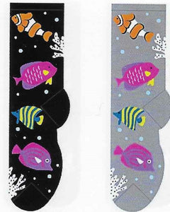 Tropical Fish Socks FC-144
