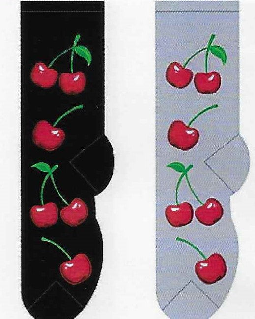 Cherries Socks  FC-156