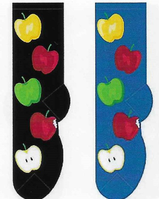 Apples Socks   FC-158
