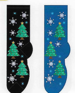 Christmas Trees Socks  FC-174