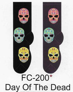 Day of The Dead Socks  FC-200