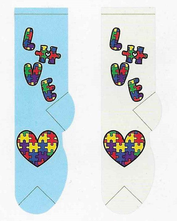 Autism Awareness Socks   FC-204