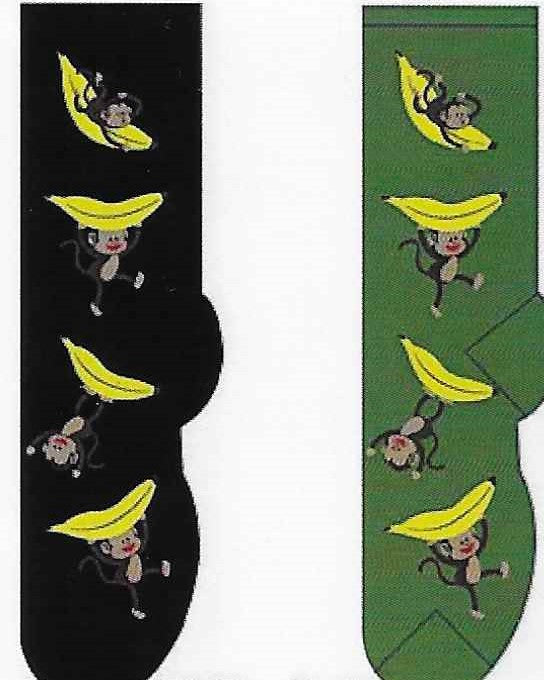 Monkeys & Bananas Socks  FC-21
