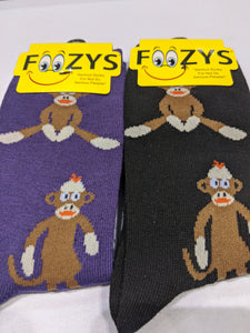 Sock Monkey Socks  FC-52