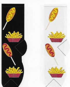 Corn Dog & Fries Socks  FC-99