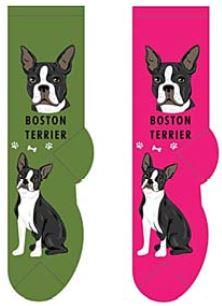 Boston Terrier Socks  FCC-05