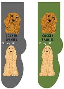 Cocker Spaniel Socks  FCC-10