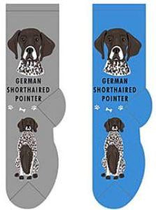 German Shorthaired Pointer Canine Collection Socks  FCC-17