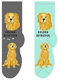 Golden Retriever Canine Collection Socks  FCC-18