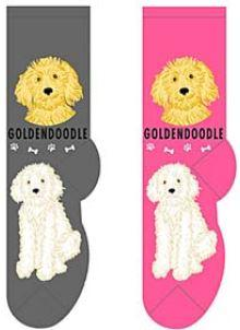 Goldendoodle Socks  FCC-19