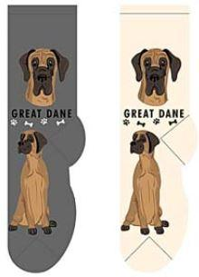 Great Dane Canine Collection Socks  FCC-20
