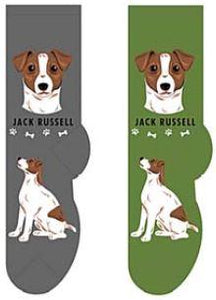 Jack Russell Canine Collection Socks  FCC-23