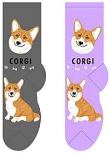 Corgi Canine Collection Socks  FCC-27
