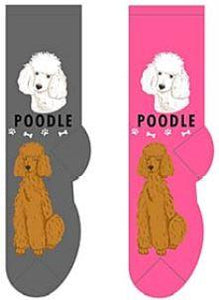 Poodle Canine Collection Socks  FCC-30