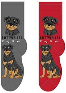 Rottweiler Canine Collection Socks  FCC-32