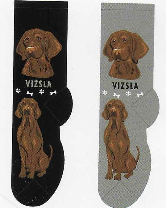 Vizsla Canine Collection Socks  FCC-39