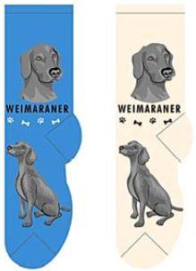 Weimaraner Canine Collection Socks  FCC-40