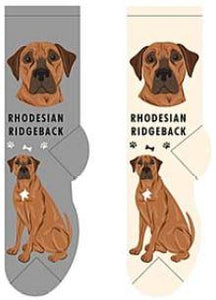 Rhodesian Ridgeback Canine Collection Socks  FCC-47