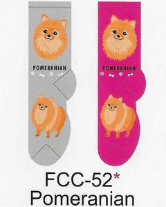 Pomeranian Canine Collection Socks   FCC-52