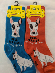 Bull Terrier Canine Collection Socks   FCC-57