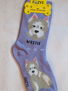 Westie Canine Collection Socks   FCC-69