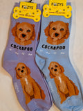 Cockapoo Canine Collection Socks   FCC-72