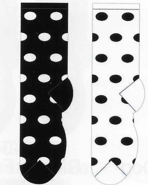 Fluffy Winter Polka Dots Collection Socks  FF-04