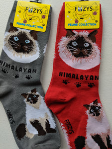 Himalayan Feline Collection Socks   FFC-10