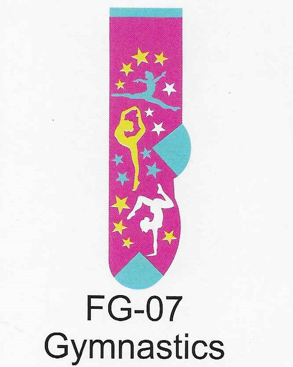 Gymnastics Kids Socks  FG-07