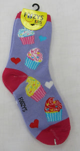 Cupcakes Kids Socks  FG-09