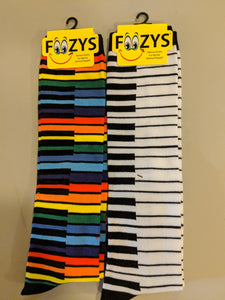 Colorful Piano Keys KNEE HIGH Socks  FK-22