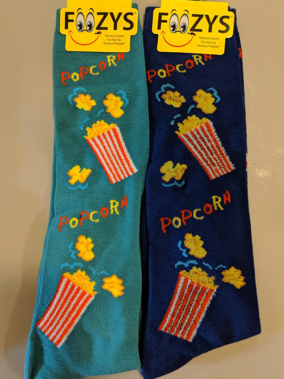 Popcorn Mini Buckets KNEE HIGH Socks  FK-31